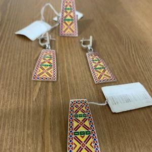 Pendant+Ring+Earrings Sterling Silver